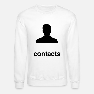 Contact contacts - Unisex Crewneck Sweatshirt