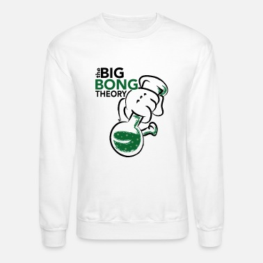 Bong Cannabis bong - the big bong theory - Crewneck Sweatshirt