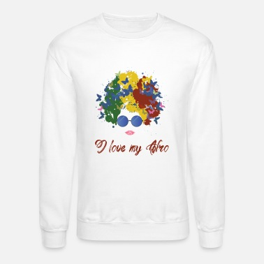 Afro new afro - Crewneck Sweatshirt
