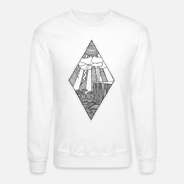 Sea The Symmetry The storm - Unisex Crewneck Sweatshirt