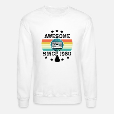 Since Awesome Since 1960 Vintage - Unisex Crewneck Sweatshirt