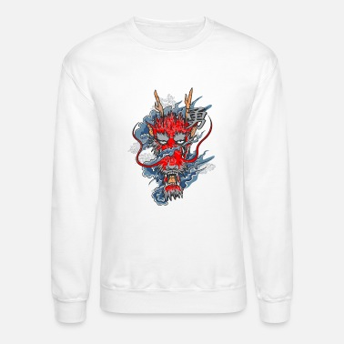 Red Dragon red dragon - Crewneck Sweatshirt