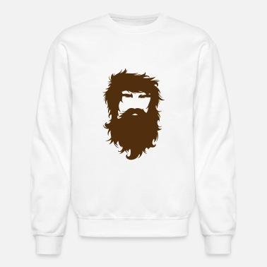 I Bearly Remember When I Shaved My Beard Cool Bear Unisex Crew Neck Sweatshirt