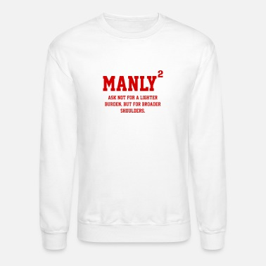 Manly MANLY SQUARED - Crewneck Sweatshirt