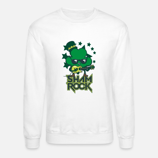 Movie Hoodies & Sweatshirts - Shamrock - Unisex Crewneck Sweatshirt white