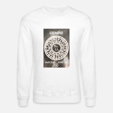 Gemini S The Twins by Aaron S. - Unisex Crewneck Sweatshirt