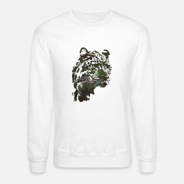 Junglecontest Leopard out of the jungle - Unisex Crewneck Sweatshirt