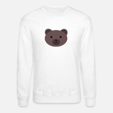 Brown Bear wild bear polar teddy bears brown grizzly panda ba - Unisex Crewneck Sweatshirt