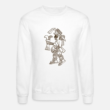 Aztec Warrior Design - Unisex Crewneck Sweatshirt