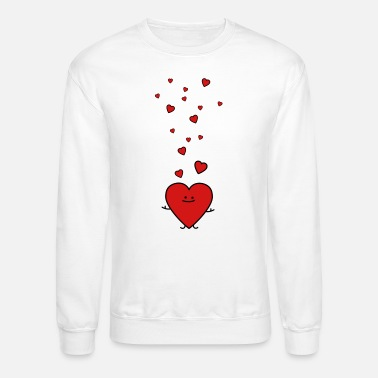 King Of Hearts Cool T-shirt Poker cards Valentines Crew Neck Sweatshirt