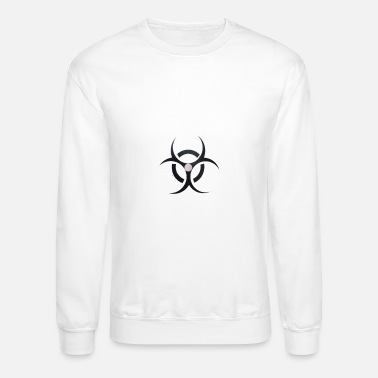 White cool Sweatshirt - Crewneck Sweatshirt