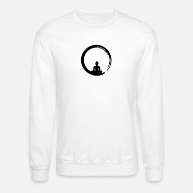 Enso Zen Meditation Buddha Buddhism Japan Mens Hoodie