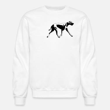 Great Dane Silhoutte Mens Premium Longsleeve Shirt