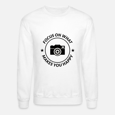 Selfie Photography Lovers Camera Photographer Funny Gift - Unisex Crewneck Sweatshirt