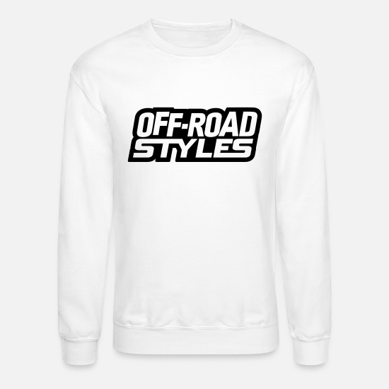 Jeep Hoodies & Sweatshirts - Mega Truck Mud Play T-Shirts - Unisex Crewneck Sweatshirt white