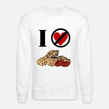 Peanut Allergy Peanut Allergy - Unisex Crewneck Sweatshirt