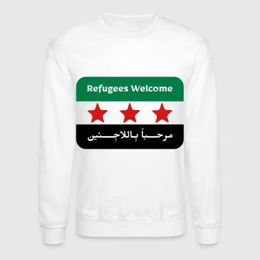 Refugees Welcome - Crewneck Sweatshirt