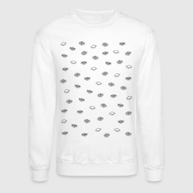 The eye pattern - Crewneck Sweatshirt