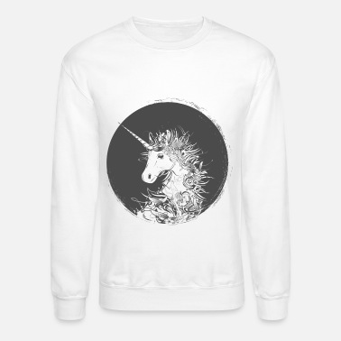 Head of a unicorn - Crewneck Sweatshirt