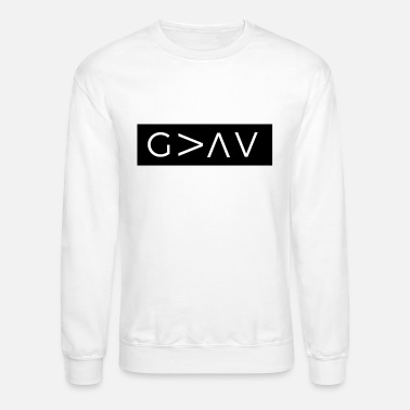 Greater God Is Greater Than The Highs And Lows - Unisex Crewneck Sweatshirt