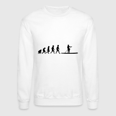 Evolution Stand Up Paddling Paddle Surfing SUP - Crewneck Sweatshirt