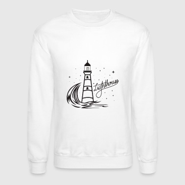 Lighthouse Coast North Sea Holiday Gift - Crewneck Sweatshirt