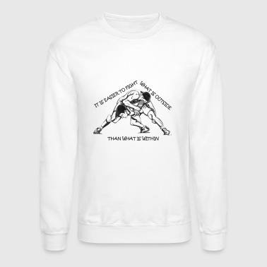 Wrestling Fight - Crewneck Sweatshirt