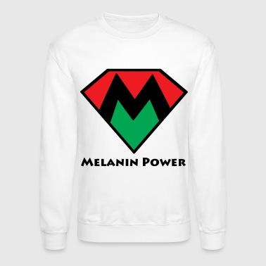 melanin power - Crewneck Sweatshirt