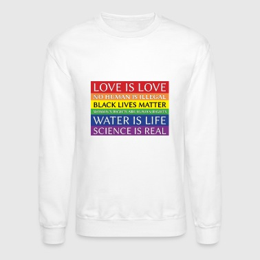 Solidarity rainbow solidarity - Crewneck Sweatshirt