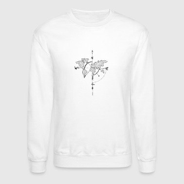 World Map world maps - Crewneck Sweatshirt