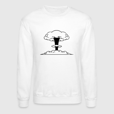 Atomic Bomb atomic cloud - Crewneck Sweatshirt