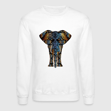 Decorating decorative elephant - Crewneck Sweatshirt