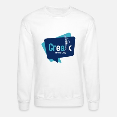 Greek Letters Greek in the City - Crewneck Sweatshirt