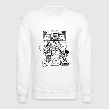 Sound System Hip-Hop Man Sound System - Crewneck Sweatshirt