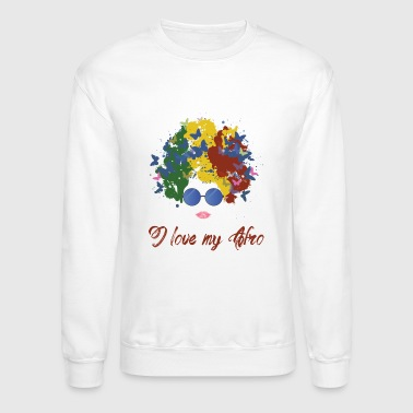 new afro - Crewneck Sweatshirt