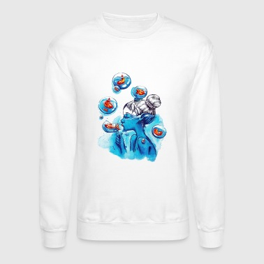 Bubble bubbles - Crewneck Sweatshirt
