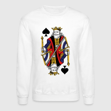 Vintage King Of Spades - Crewneck Sweatshirt