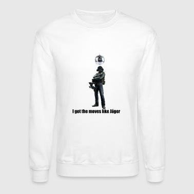 Six moves like jager - Crewneck Sweatshirt