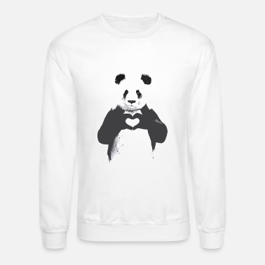 Cartoon Cartoon panda - Crewneck Sweatshirt
