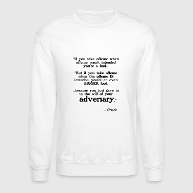 Taking Offense - Crewneck Sweatshirt