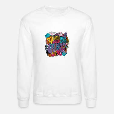 Stranger Things Things Might Get Weird - Crewneck Sweatshirt