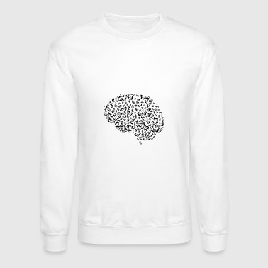 Serce Money Brain - Crewneck Sweatshirt