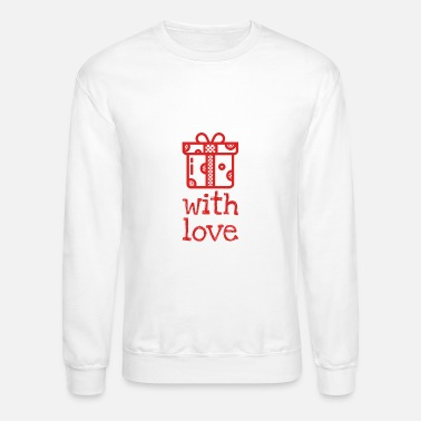 Christmas Present Christmas present with love - Crewneck Sweatshirt