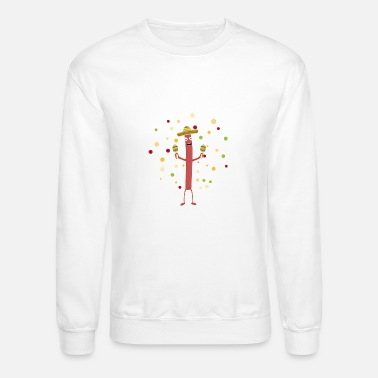 Sausage Fiesta Party Mexico Sausage - Crewneck Sweatshirt