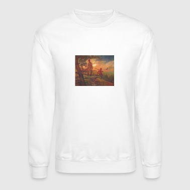American Indian Eastern Woodland Indians - Crewneck Sweatshirt