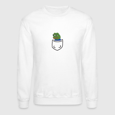 Pepe Pepe in a pocket - Crewneck Sweatshirt