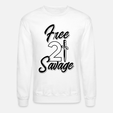 FREE21 Premium Unisex Sweatshirt
