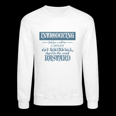 introducing a bastard - Crewneck Sweatshirt