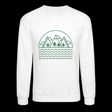 Mountains by the Lake - Crewneck Sweatshirt