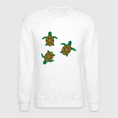 sea turtles - Crewneck Sweatshirt
